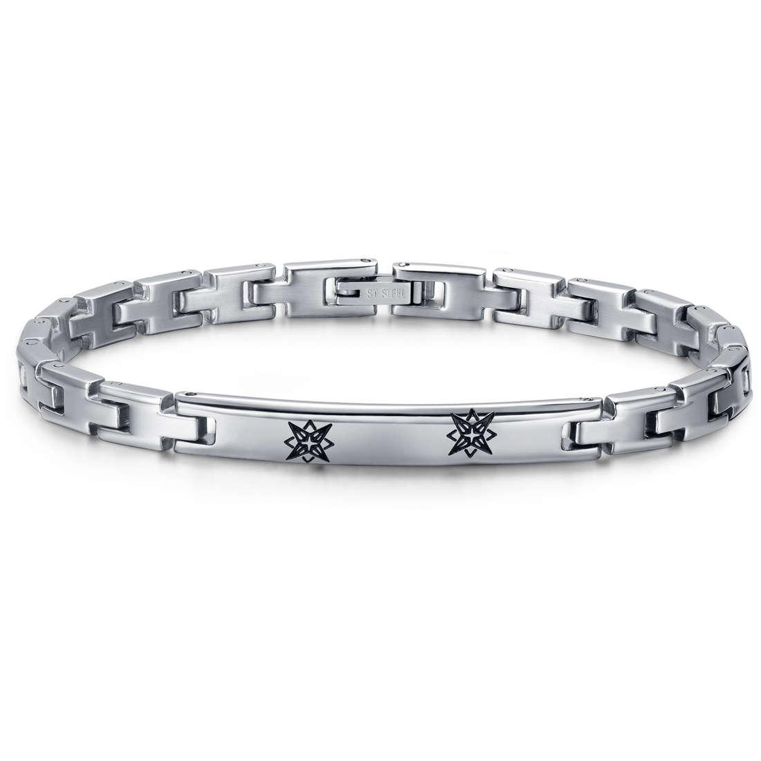 bracelet man jewellery Luca Barra LBBA714
