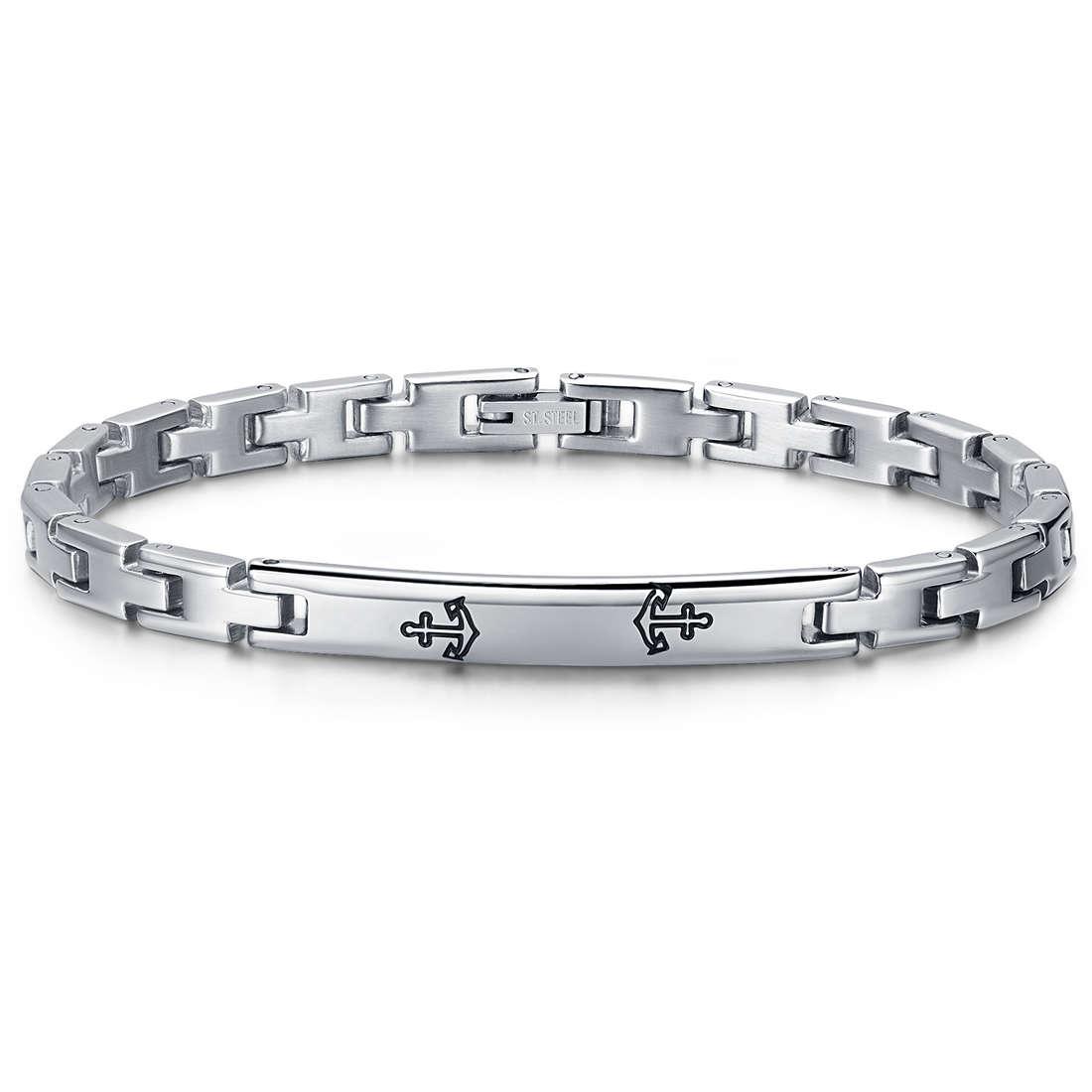 bracelet man jewellery Luca Barra LBBA716