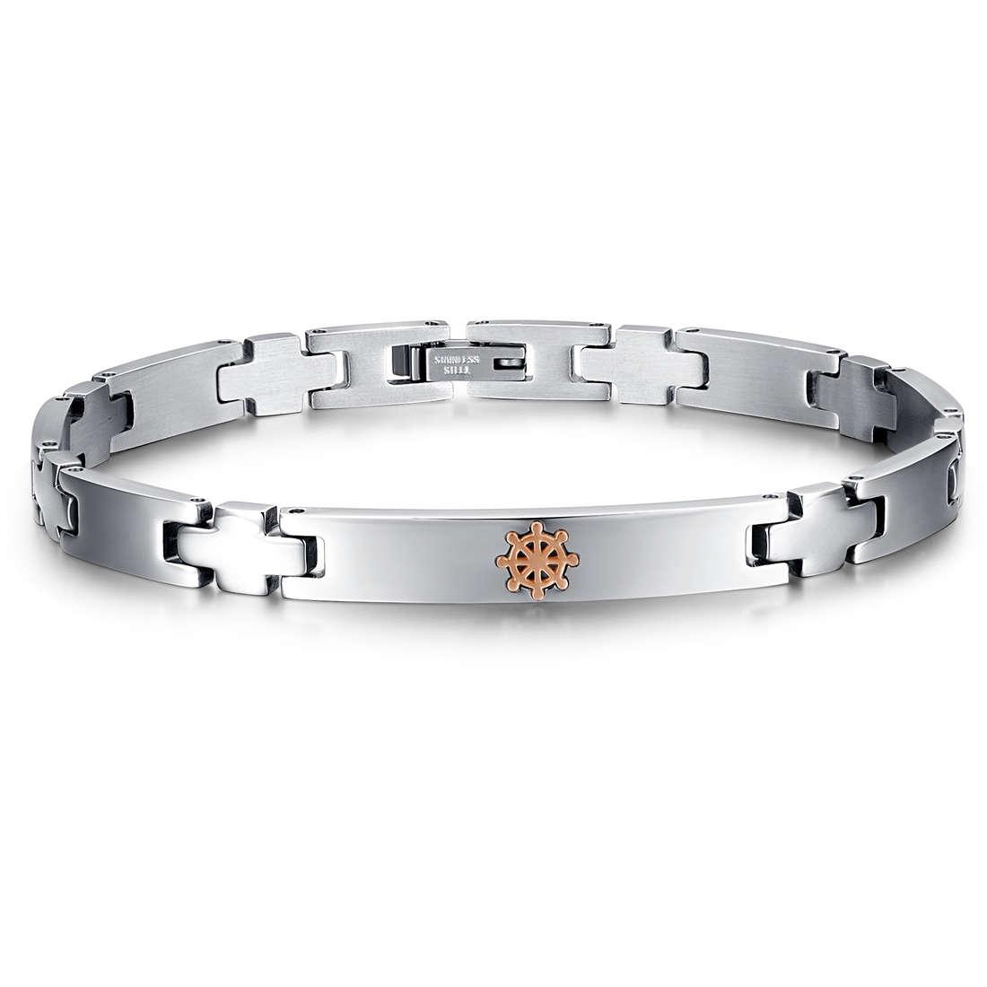 bracelet man jewellery Luca Barra LBBA717