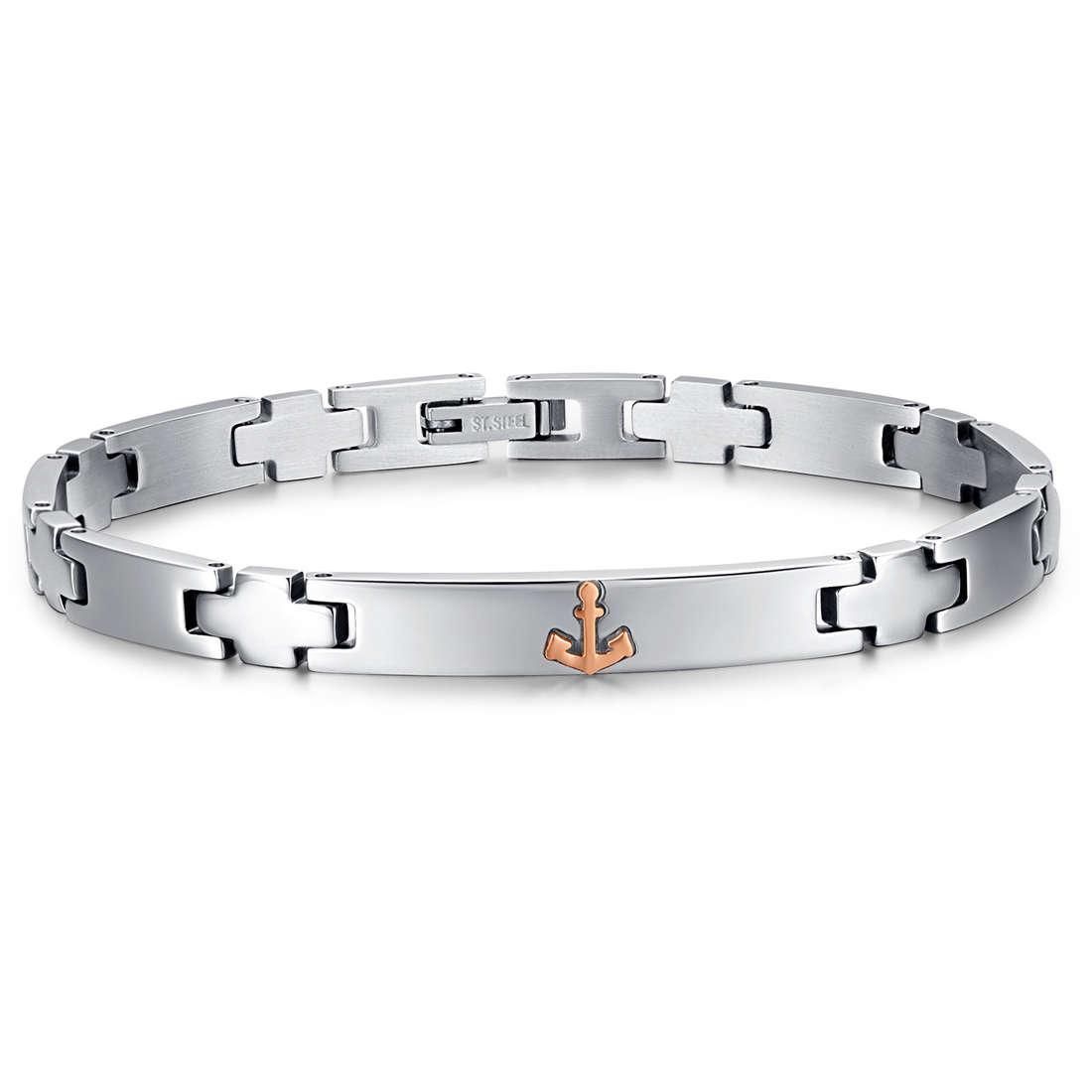 bracelet man jewellery Luca Barra LBBA718