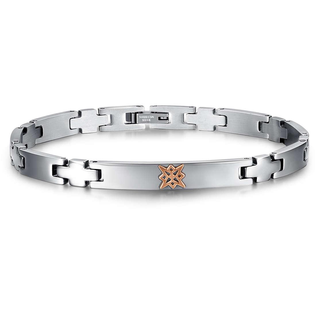 bracelet man jewellery Luca Barra LBBA719