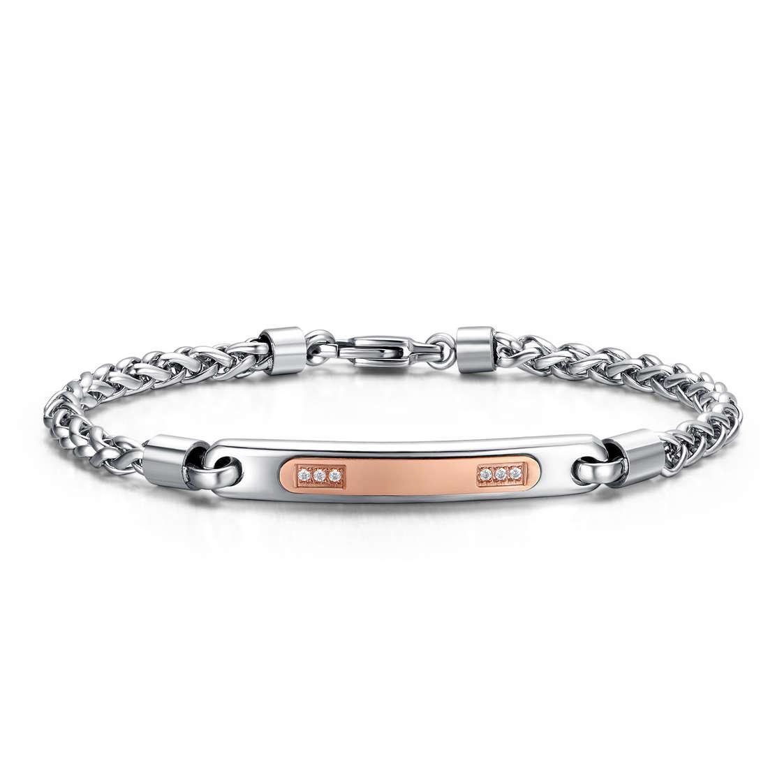 bracelet man jewellery Luca Barra LBBA722