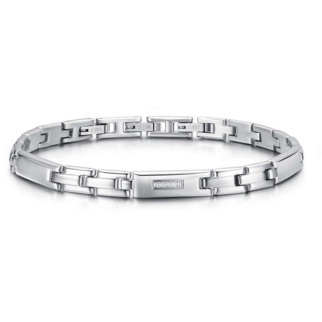 bracelet man jewellery Luca Barra LBBA726