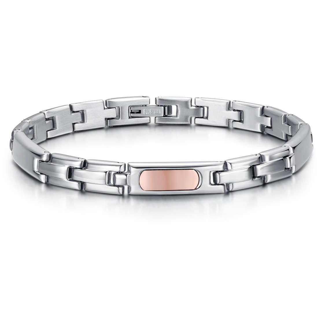 bracelet man jewellery Luca Barra LBBA729