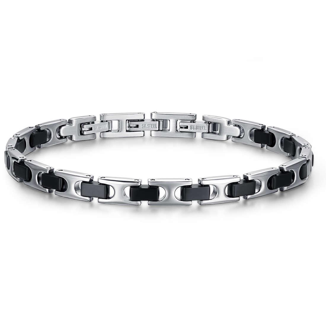 bracelet man jewellery Luca Barra LBBA734