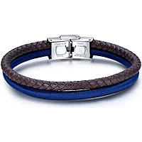 bracelet man jewellery Luca Barra LBBA808