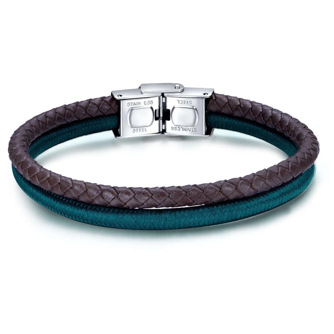 bracelet man jewellery Luca Barra LBBA809