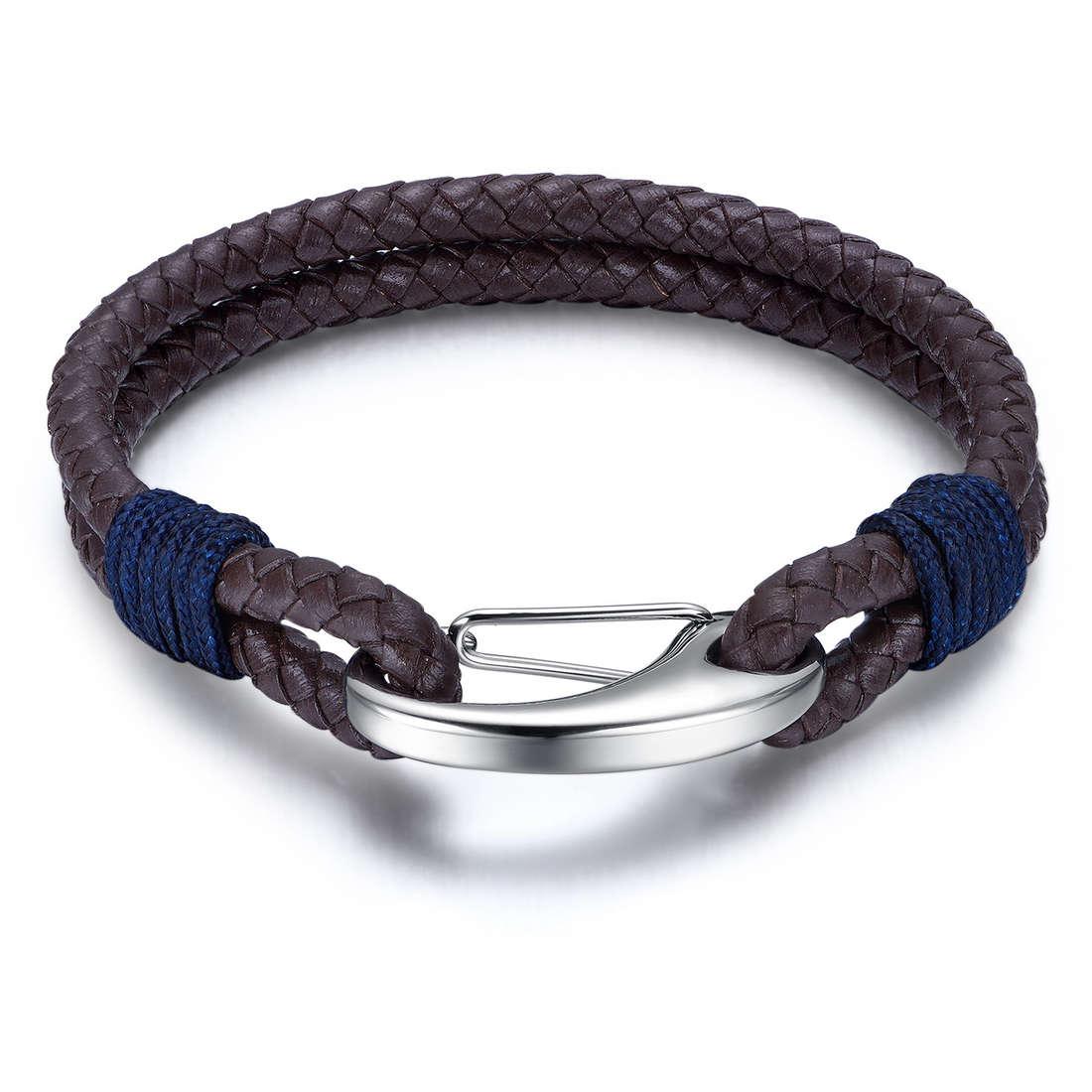 bracelet man jewellery Luca Barra LBBA813