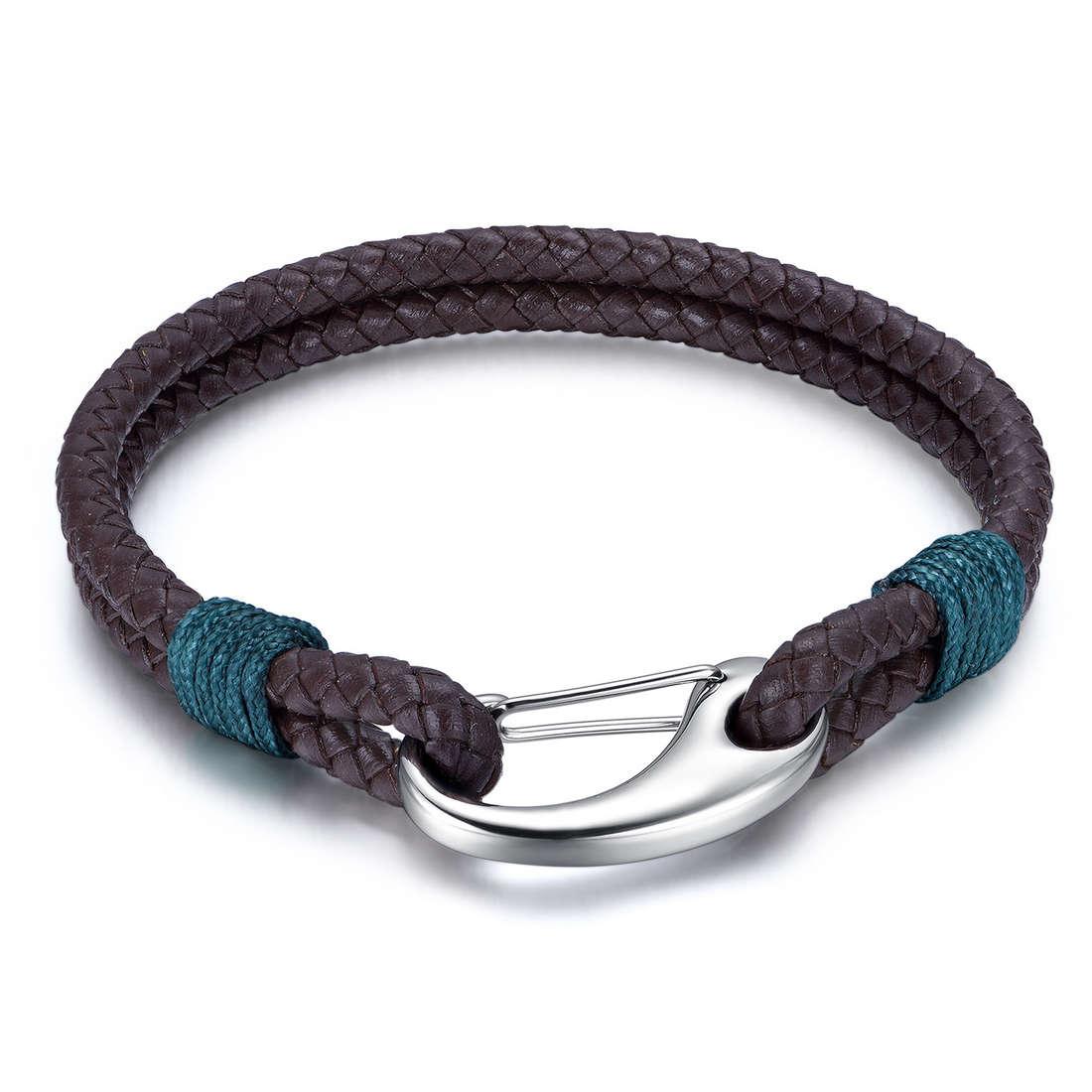 bracelet man jewellery Luca Barra LBBA814