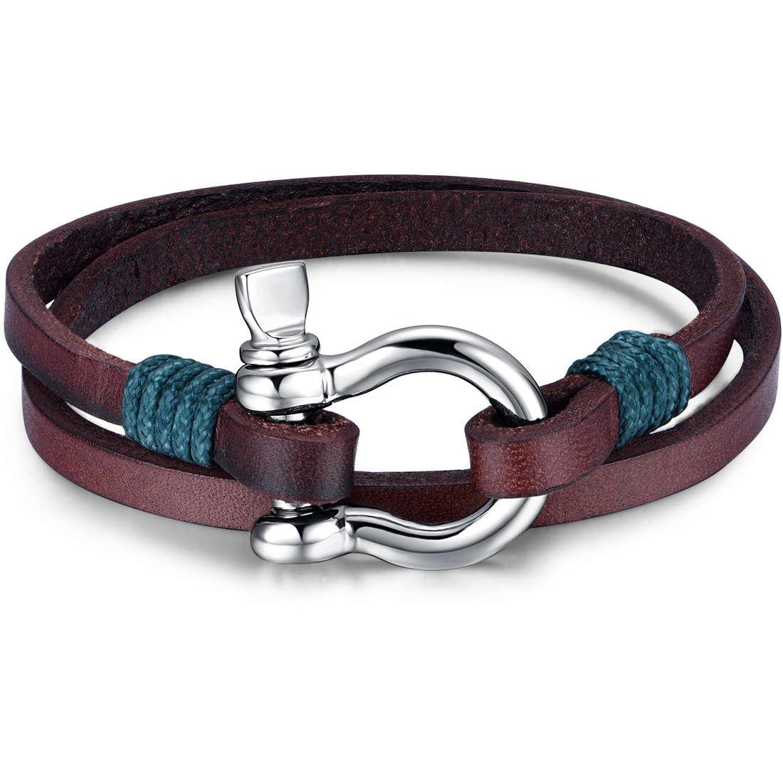 bracelet man jewellery Luca Barra LBBA826