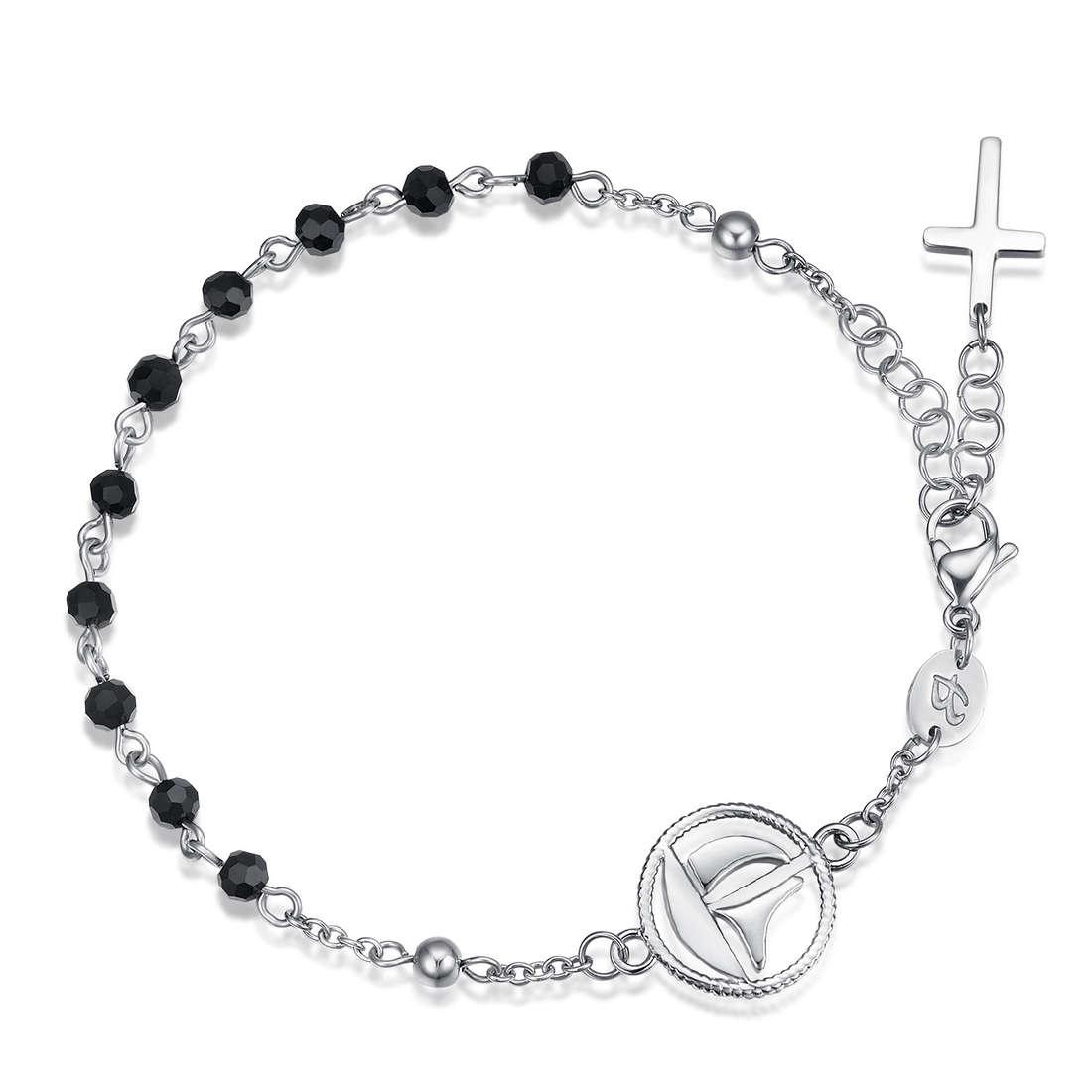 bracelet man jewellery Luca Barra Religion Soul LBBA798