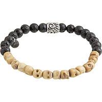 bracelet man jewellery Marlù Dark 13BR031