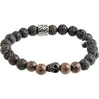 bracelet man jewellery Marlù Dark 13BR033