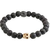bracelet man jewellery Marlù Dark 13BR035