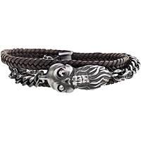 bracelet man jewellery Marlù Dark 13BR053M