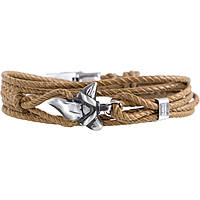 bracelet man jewellery Marlù Love The Sea 13BR047MC