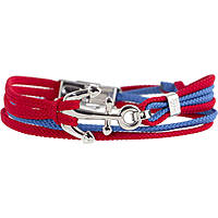 bracelet man jewellery Marlù My Riccione 11BR021RB