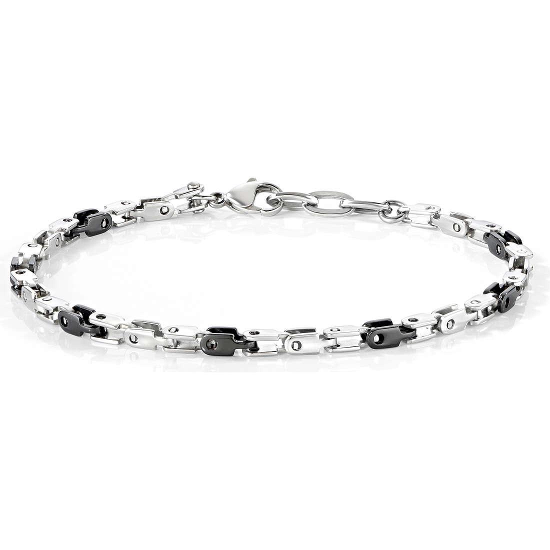 bracelet man jewellery Morellato Alfa SAEV08