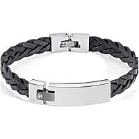 bracelet man jewellery Morellato Black & White SJT08