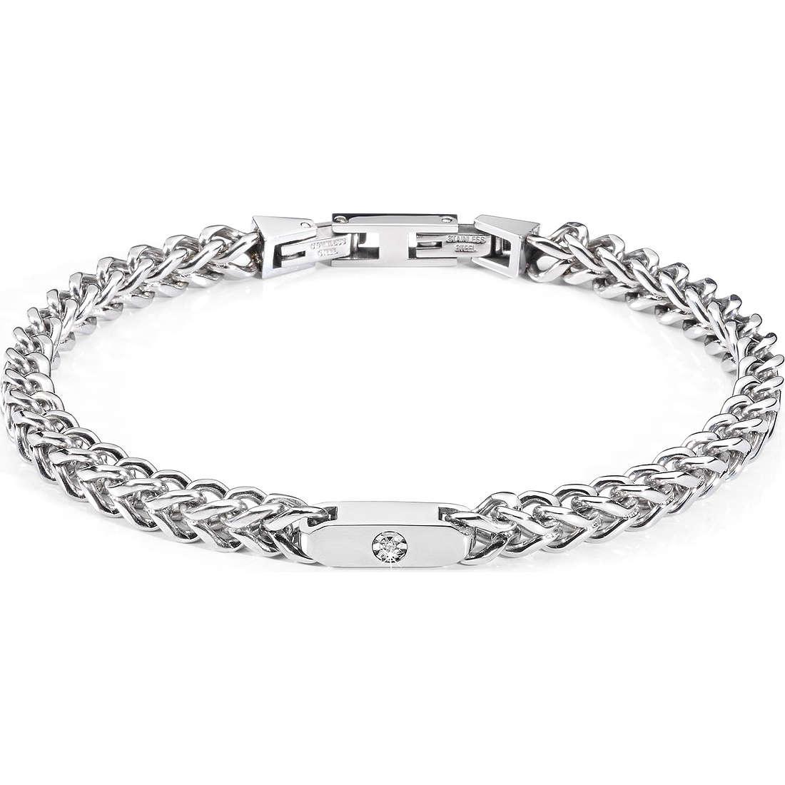 bracelet man jewellery Morellato Groumette SJT04