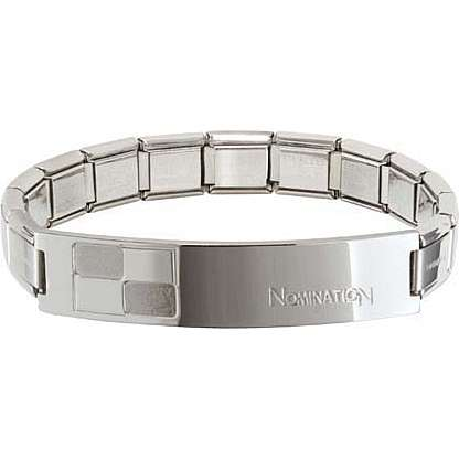 bracelet man jewellery Nomination Trendsetter 021108/006/004