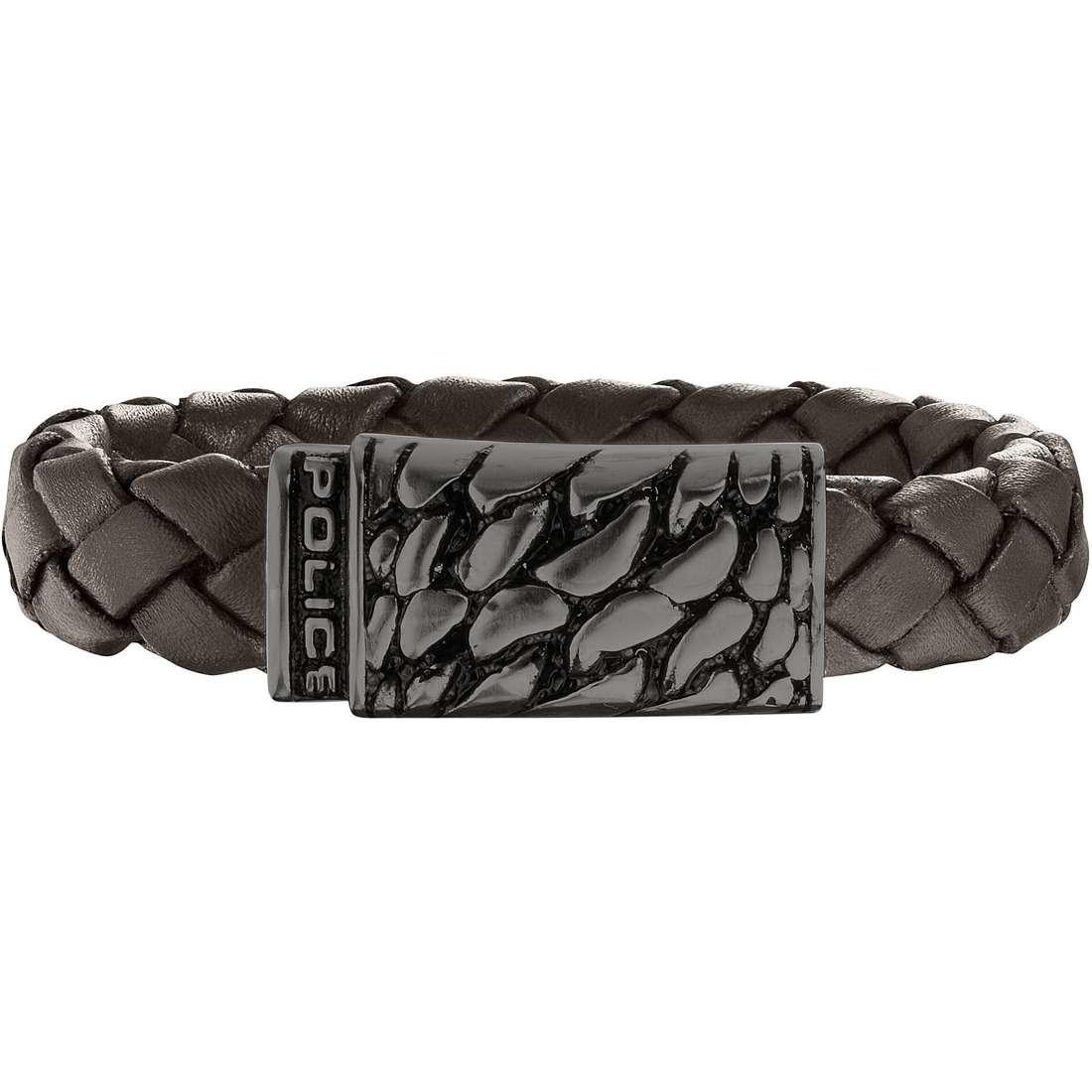 bracelet man jewellery Police Alligator S14AHW04B