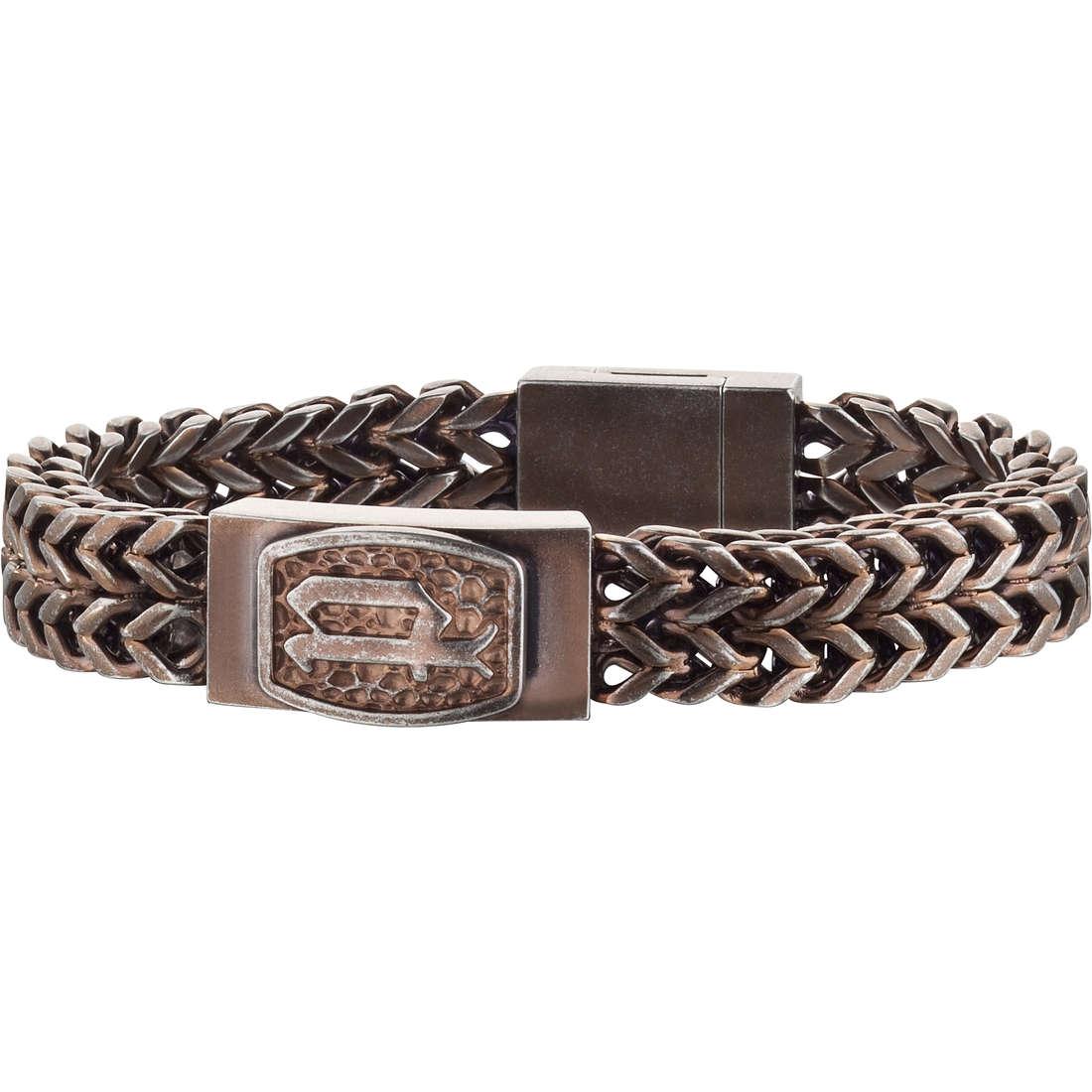bracelet man jewellery Police P-Link S14AGS03B