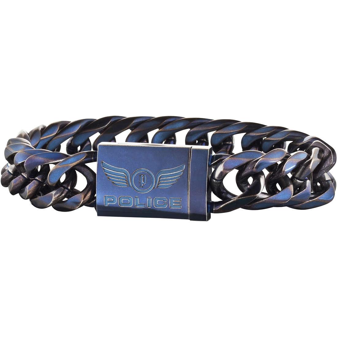 bracelet man jewellery Police Proof S14AGT03B