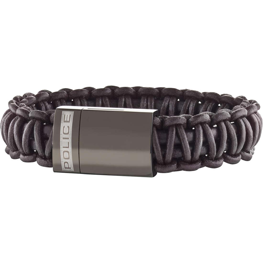 bracelet man jewellery Police Roman S14AGV03B