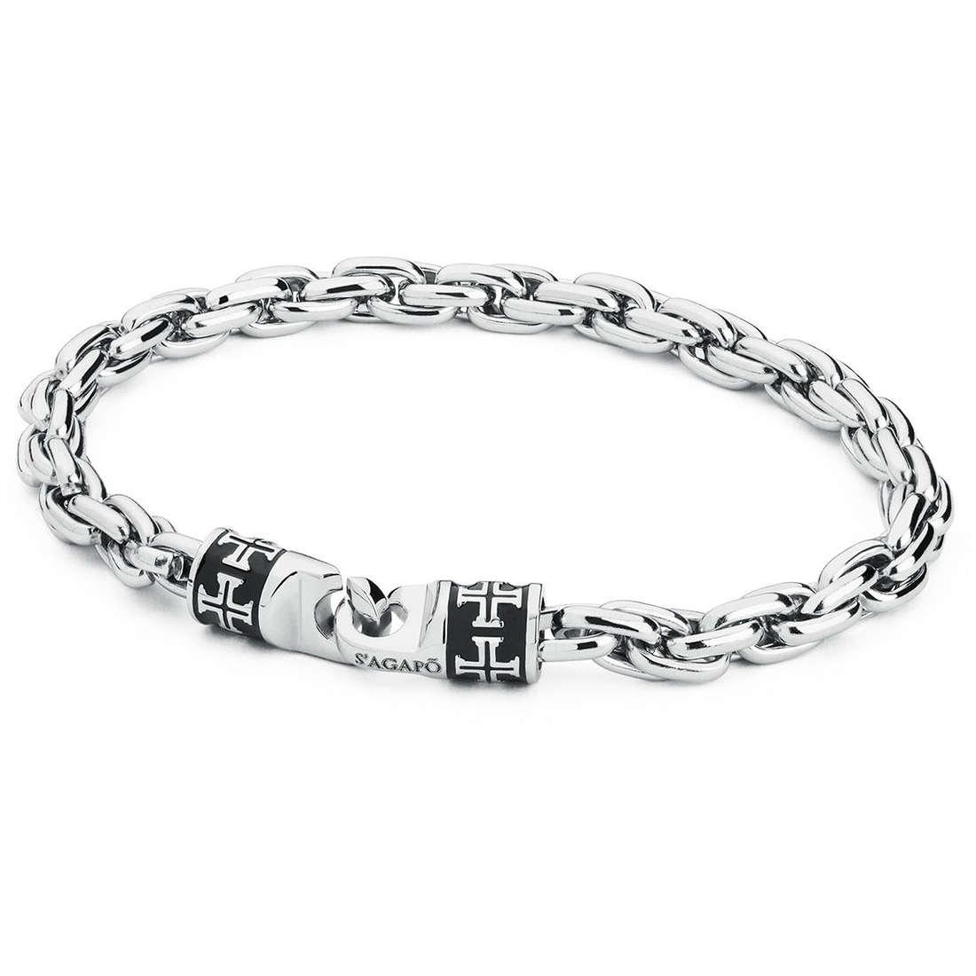 bracelet man jewellery Sagapò Admiral SAGAPOSAM13