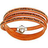 bracelet unisex bijoux Amen Padre Nostro Latino AM-PNLA12-57