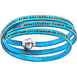 bracelet unisex bijoux Amen Padre Nostro Latino AM-PNLA13-54