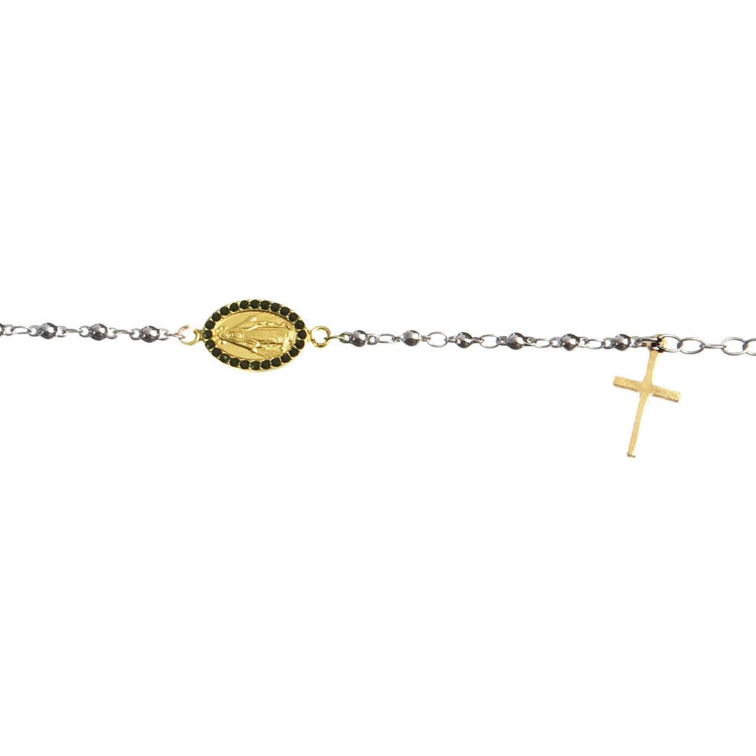 bracelet unisex bijoux Marlù Sacral Dark 13BR014G