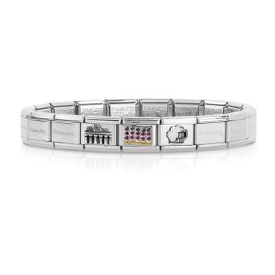 bracelet unisex bijoux Nom.Composable 339123/03