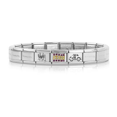 bracelet unisex bijoux Nom.Composable 339123/07
