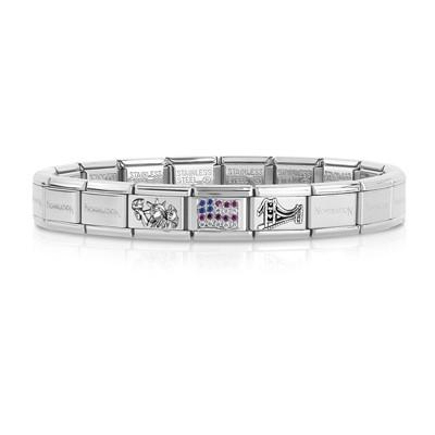 bracelet unisex bijoux Nom.Composable 339123/09