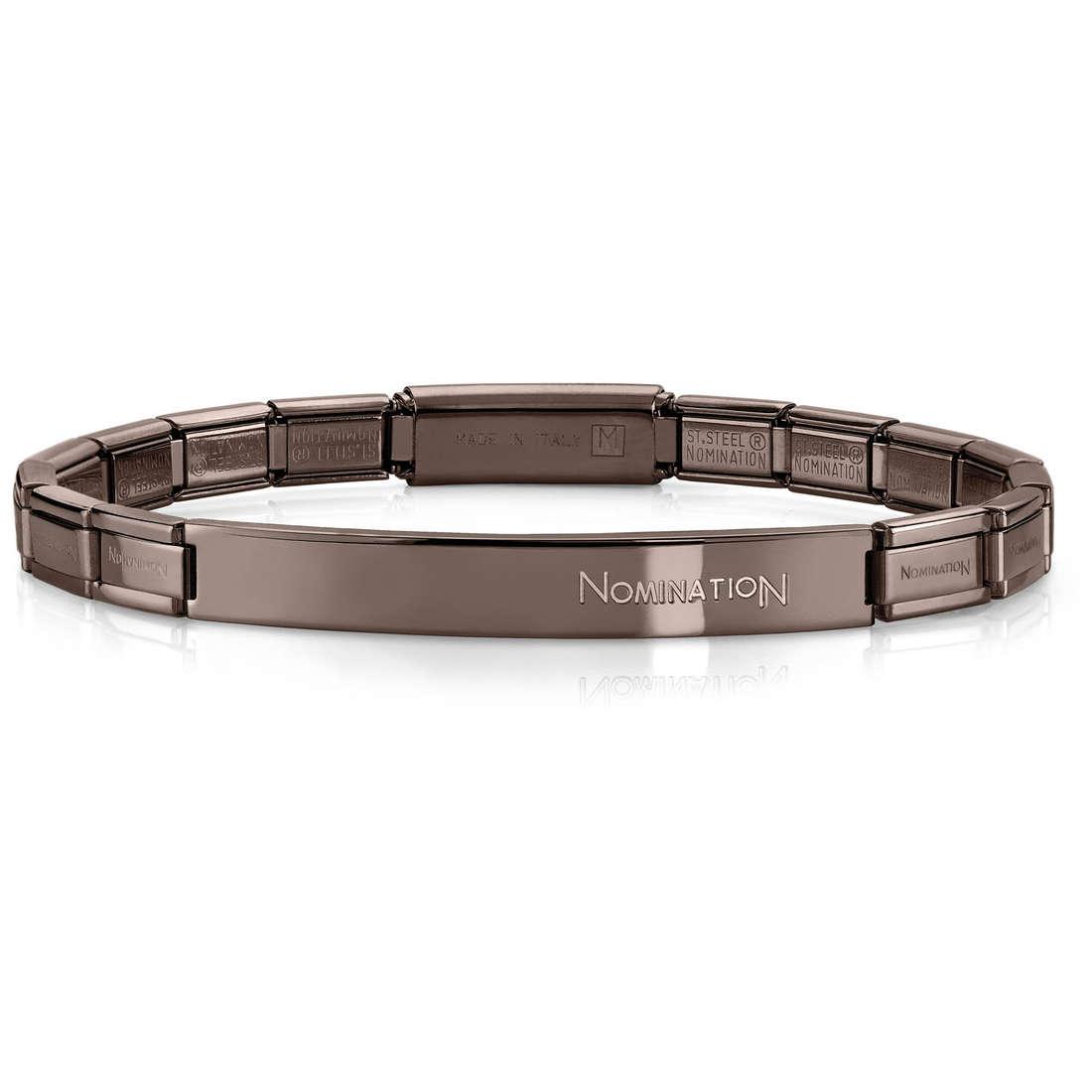 bracelet unisex bijoux Nomination 021113/028