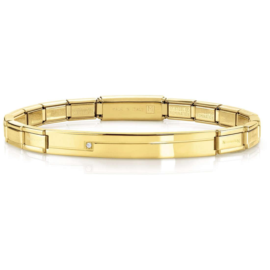 bracelet unisex bijoux Nomination 021117/012