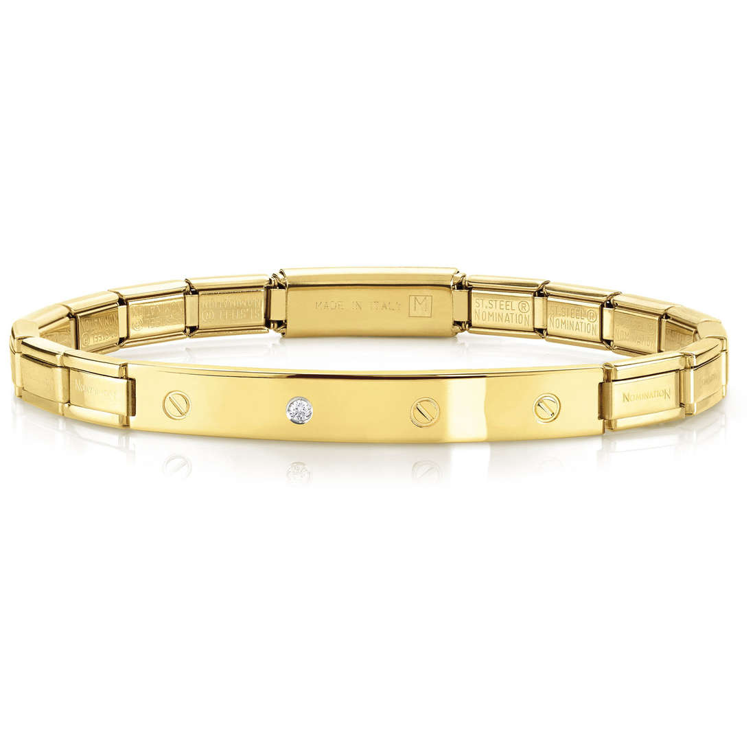 bracelet unisex bijoux Nomination 021119/012