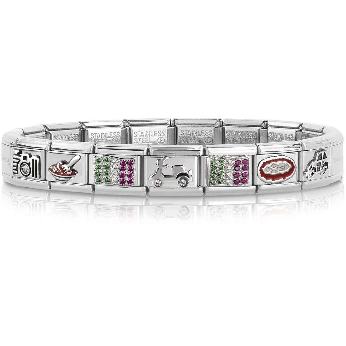 bracelet unisex bijoux Nomination 339115/20