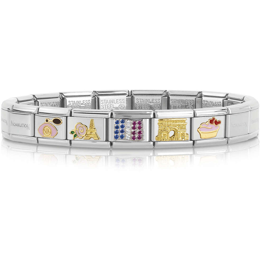 bracelet unisex bijoux Nomination 339118/20