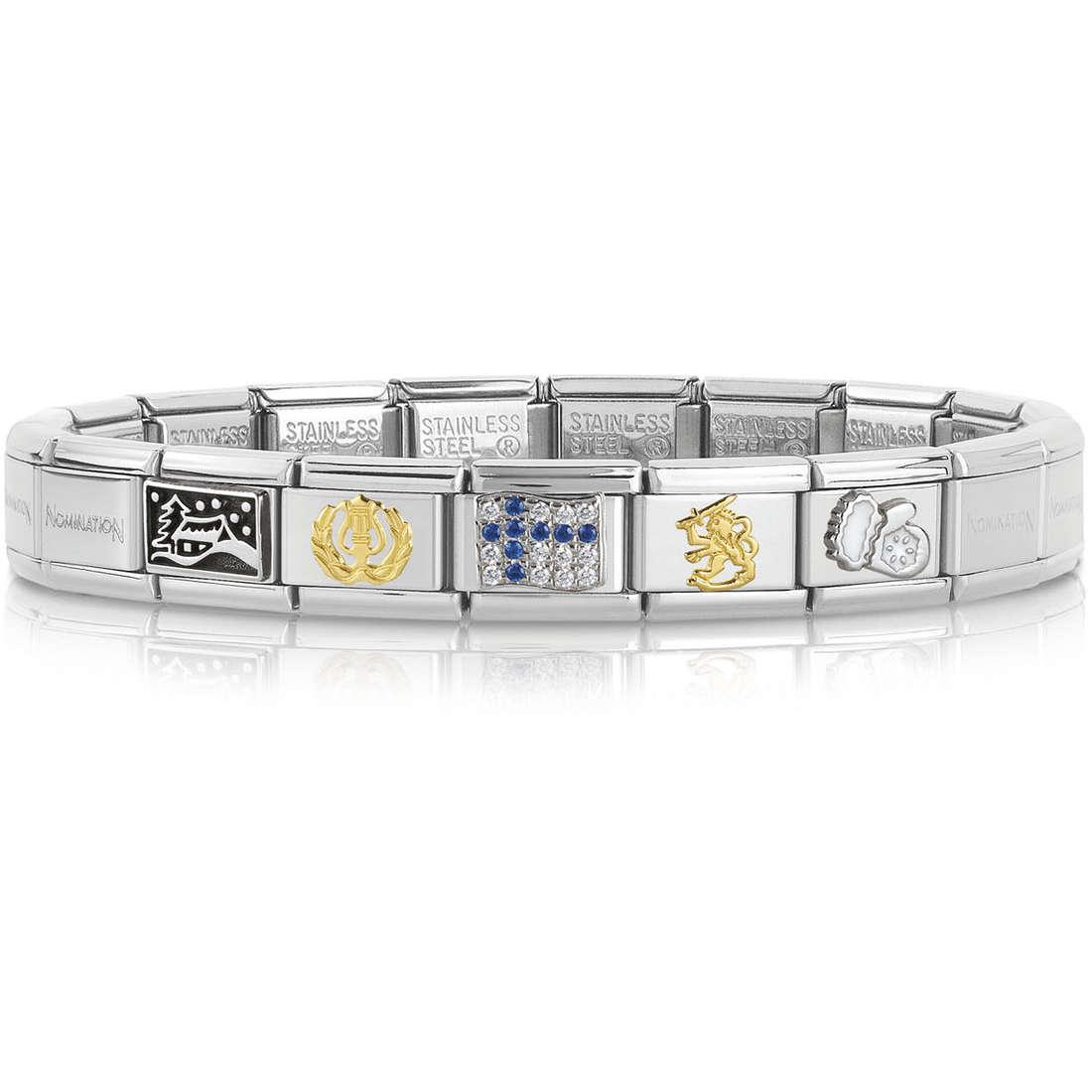 bracelet unisex bijoux Nomination 339122/20