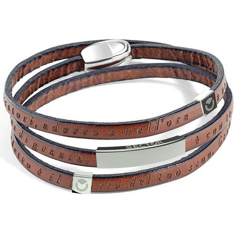 bracelet unisex bijoux Sector Love and Love SADO06