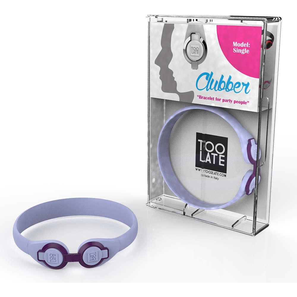 bracelet unisex bijoux Too late Clubber 8052745222300