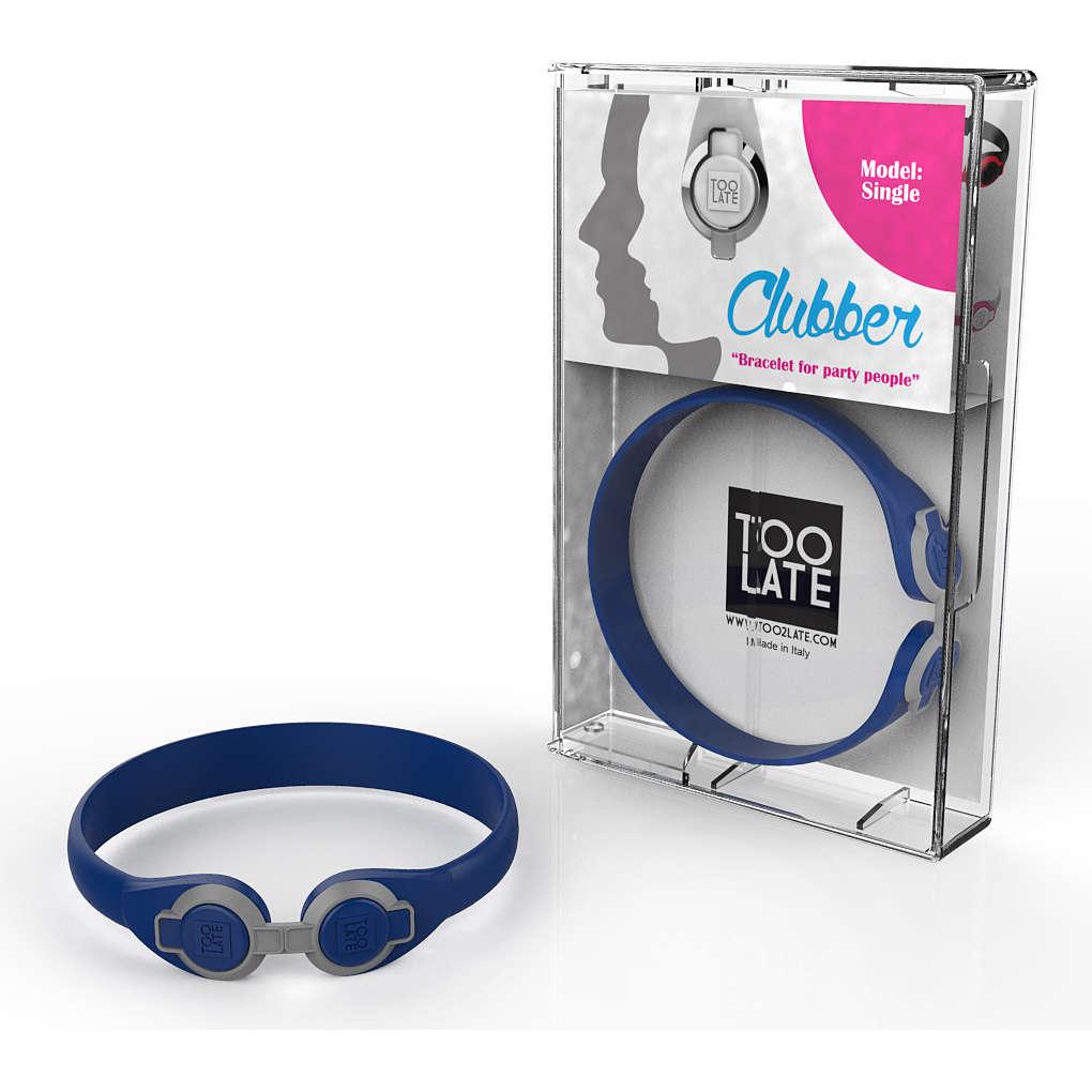 bracelet unisex bijoux Too late Clubber 8052745222362
