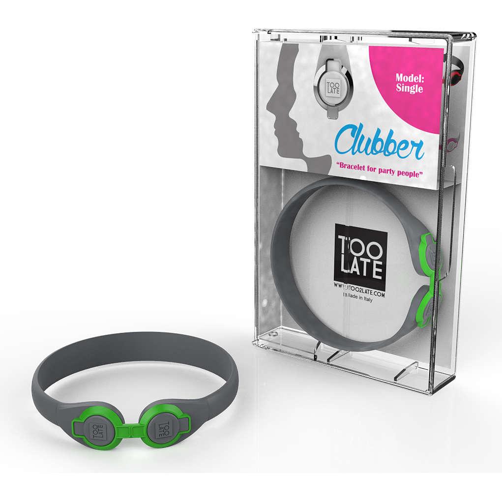 bracelet unisex bijoux Too late Clubber 8052745222379