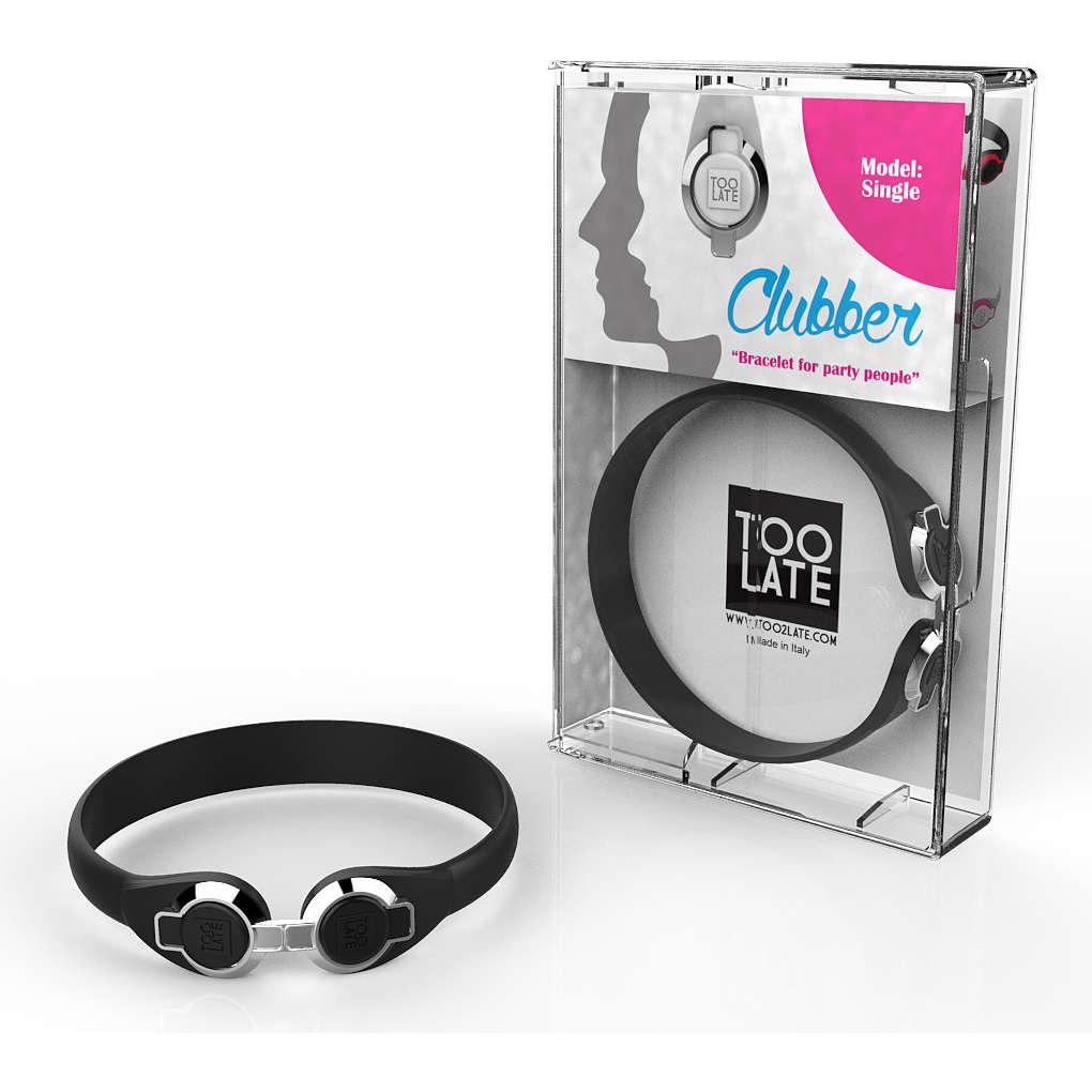 bracelet unisex bijoux Too late Clubber 8052745222409