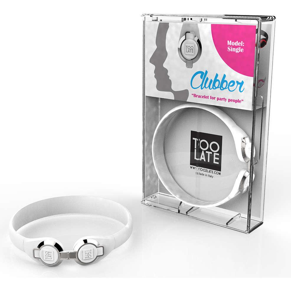 bracelet unisex bijoux Too late Clubber 8052745222423