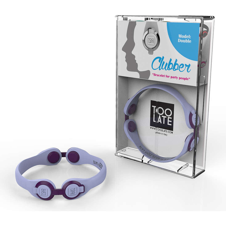 bracelet unisex bijoux Too late Clubber 8052745222447