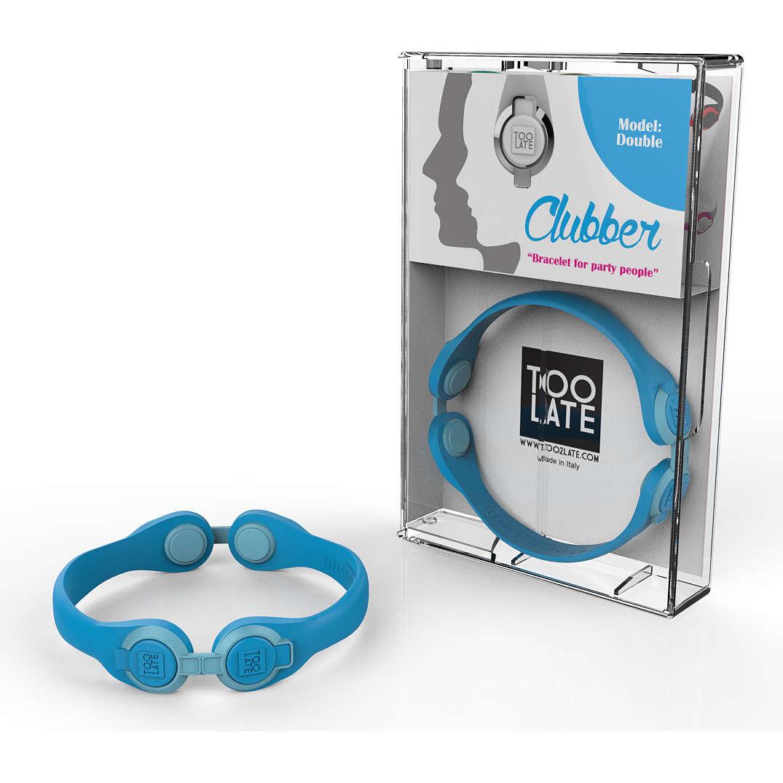 bracelet unisex bijoux Too late Clubber 8052745222492